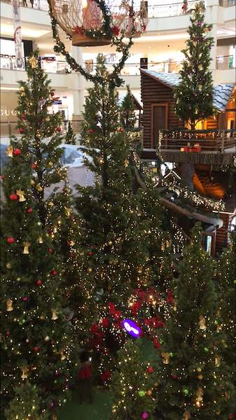 KLCC, Mall, Weihnachten, Christmas, Alltagsgewusel